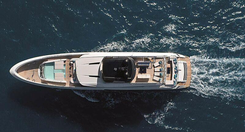 Halara yacht aerial