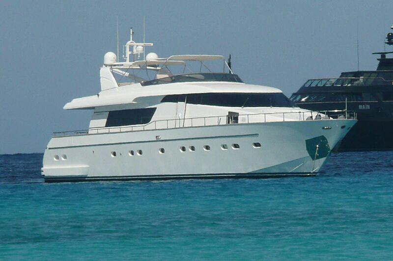 DOUBLE B  yacht Sanlorenzo