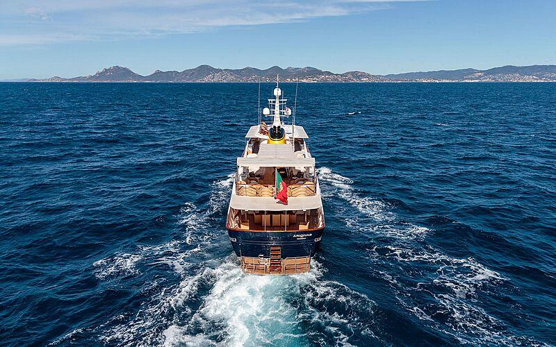 Arionas yacht cruising