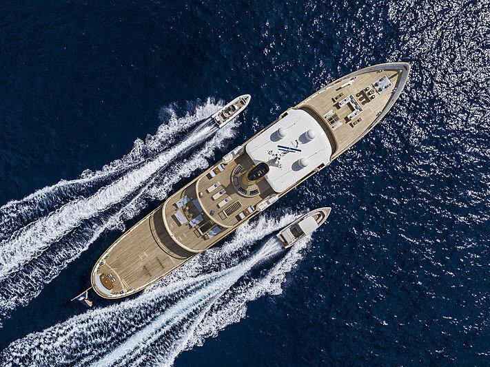 Blue II yacht in Capri