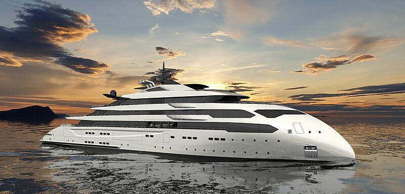 Ulstein yacht project CX126