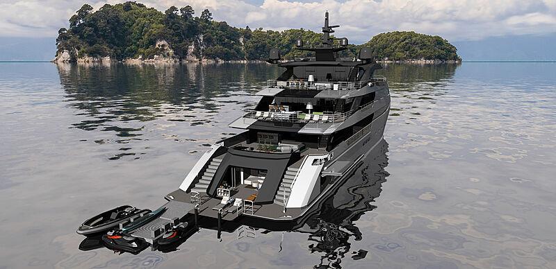 Ulstein yacht project CX128