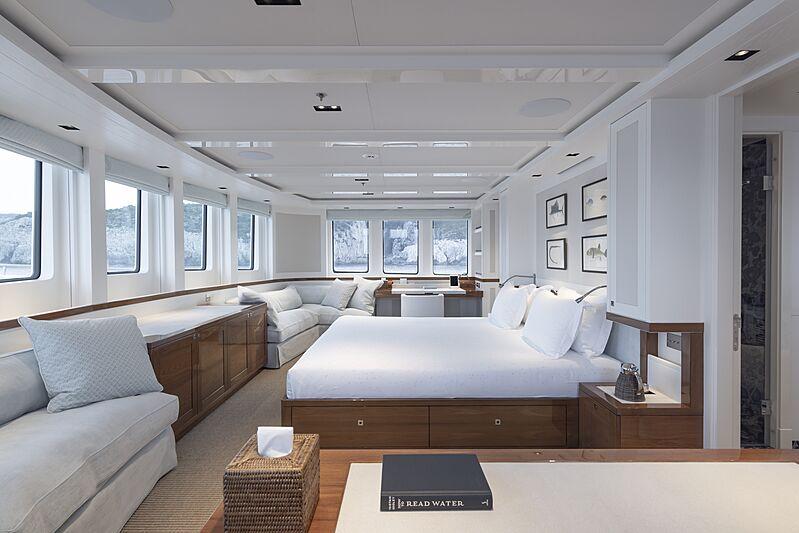 Blue II yacht master cabin