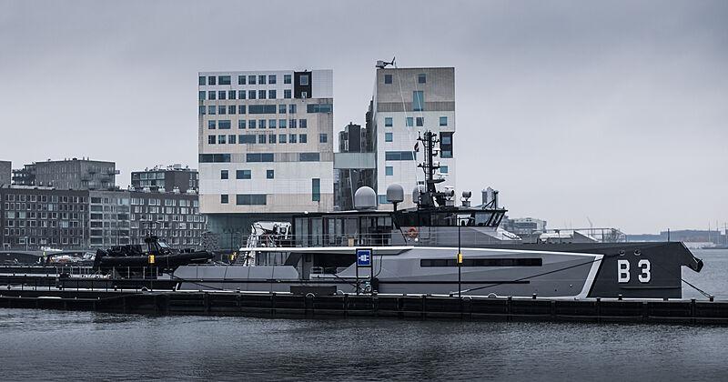 B3 yacht by Damen Yachting in Amsterdam