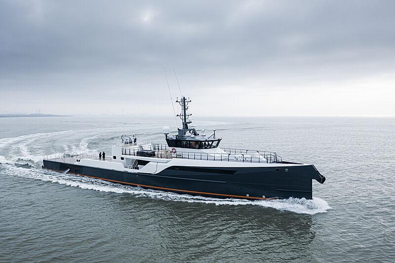 GENE CHASER yacht Damen Yachting