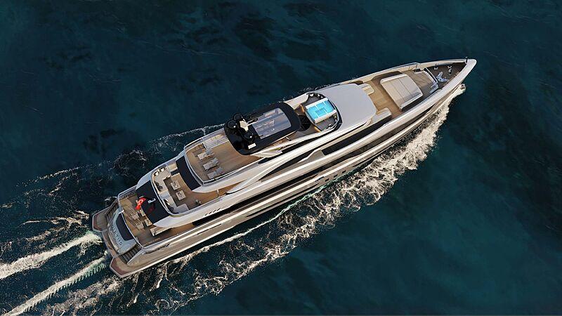Mengi Yay 47M Virtus yacht rendering
