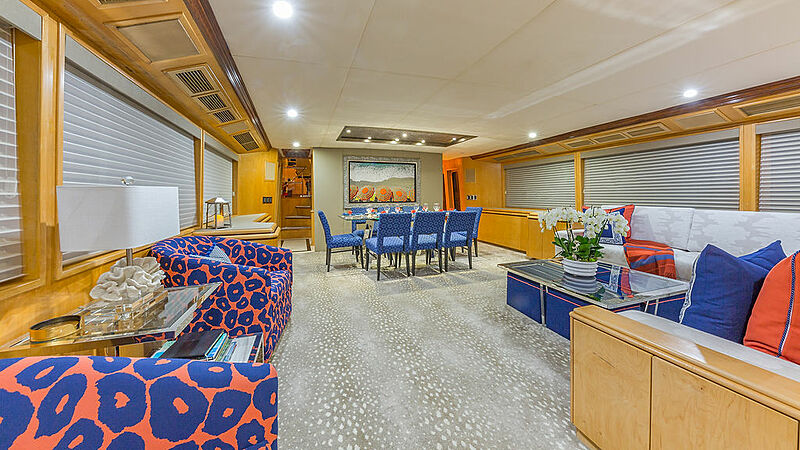 Alexandra Jane yacht interior