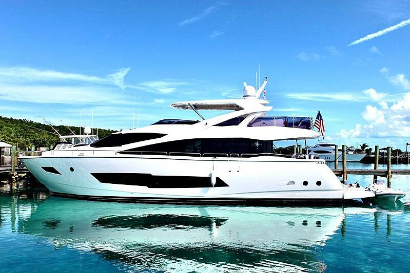 IT'S NOON SOMEWHERE  yacht Sunseeker