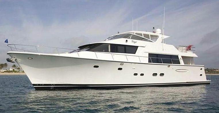 Pacific Mariner 85 yacht Gigi
