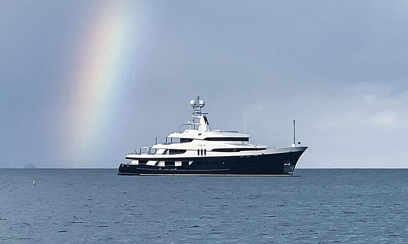 Felix yacht in U.S. Virgin Islands