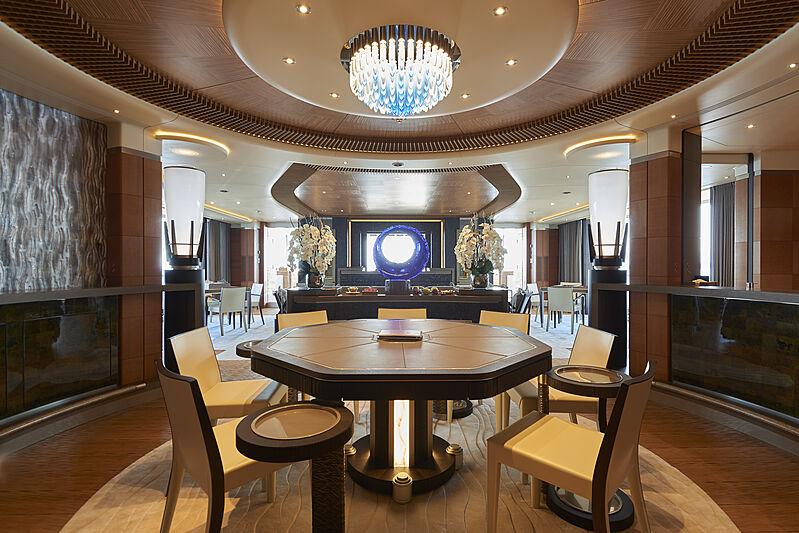 Eco intetrior on board superyachts