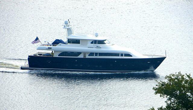 Myeerah yacht cruising