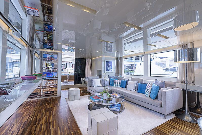 Musha yacht interior