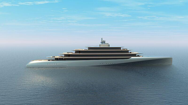 Pebble yacht concept exterior design