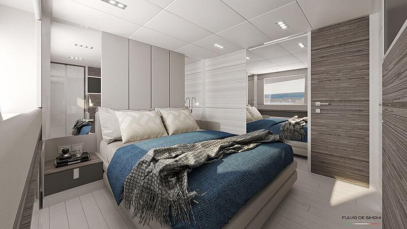 Ibiza 85 yacht interior design