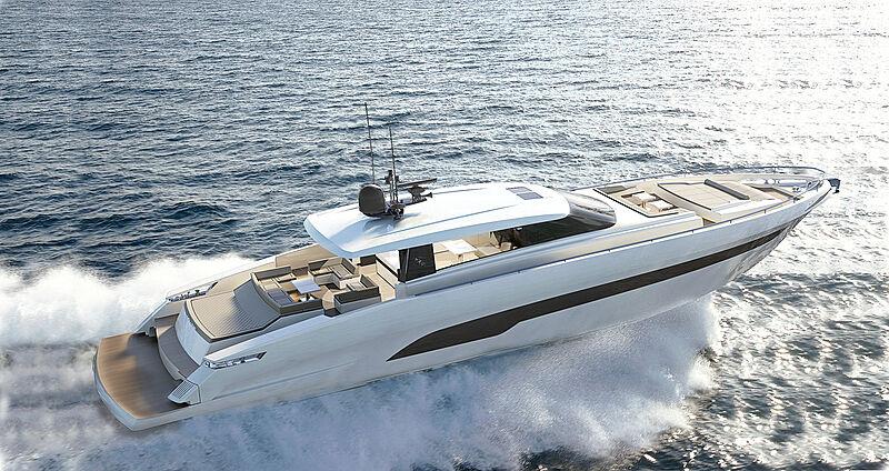 Ibiza 85 yacht exterior design