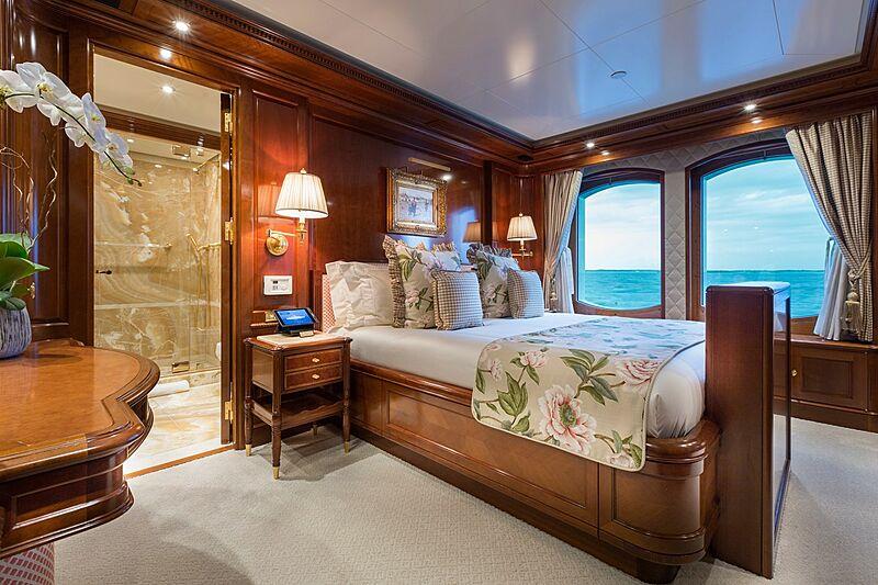 Katharine yacht stateroom