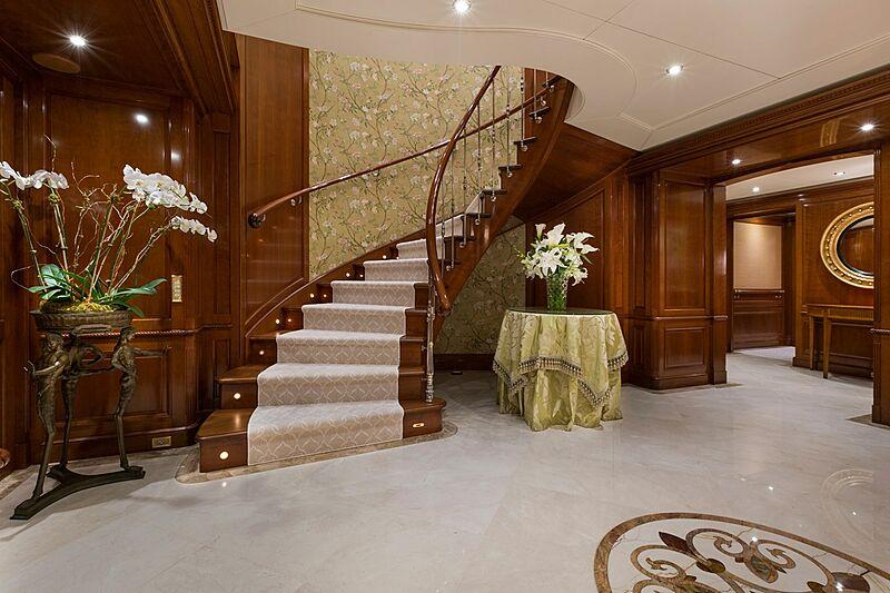 Katharine yacht lobby