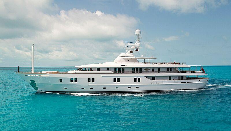 KATHARINE yacht CRN