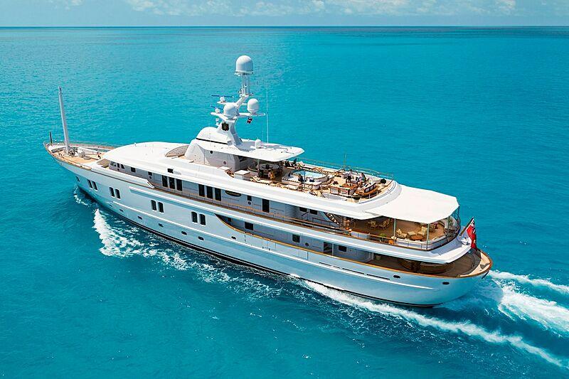 Katharine yacht cruising
