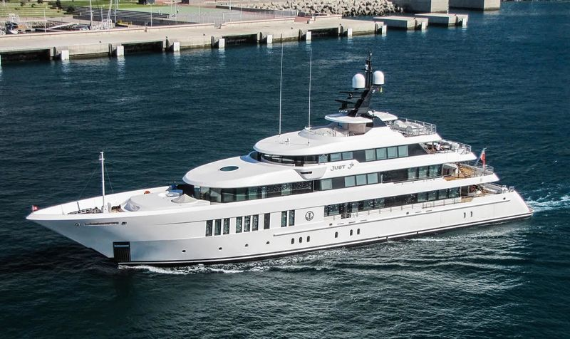 61m superyacht Just J's in Madeira