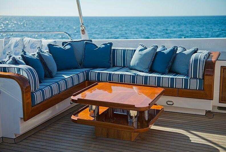 Morning Glory yacht deck