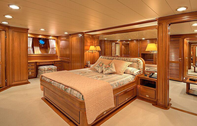 Morning Glory yacht stateroom