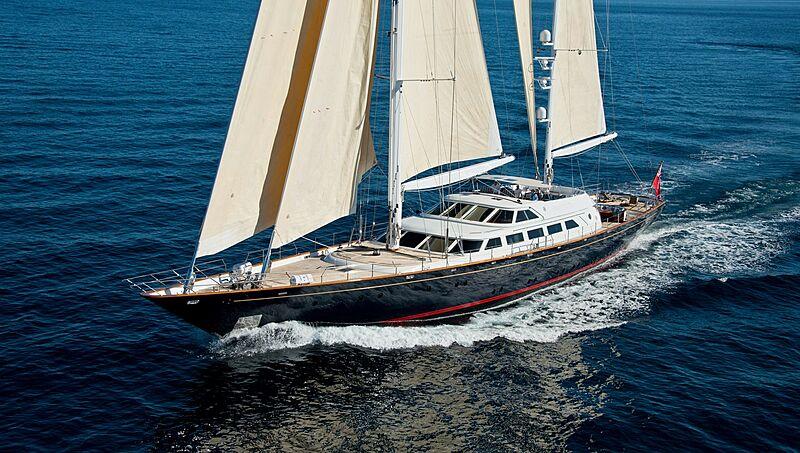 Morning Glory yacht sailing