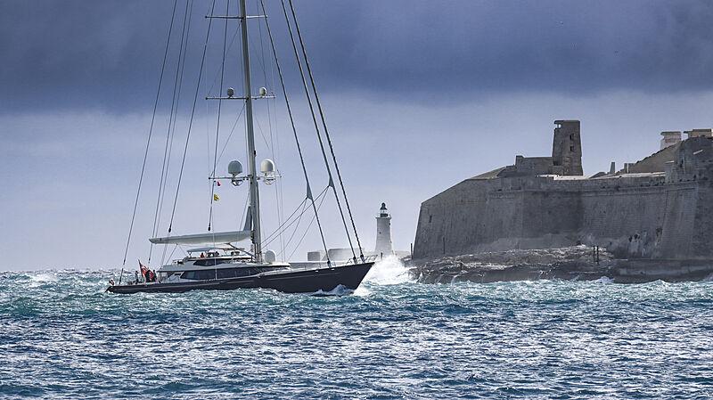 Tiara yacht by Alloy Yachts in Malta