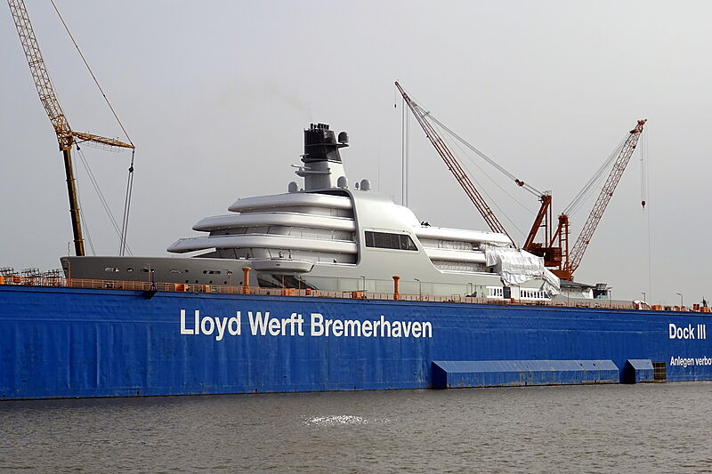 Project Solaris at Lloyd Werft, Bremerhaven