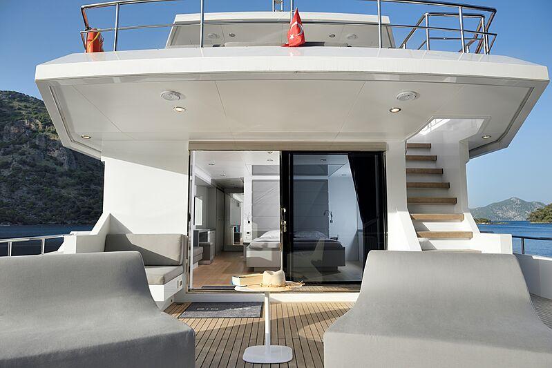 Big Joy yacht deck