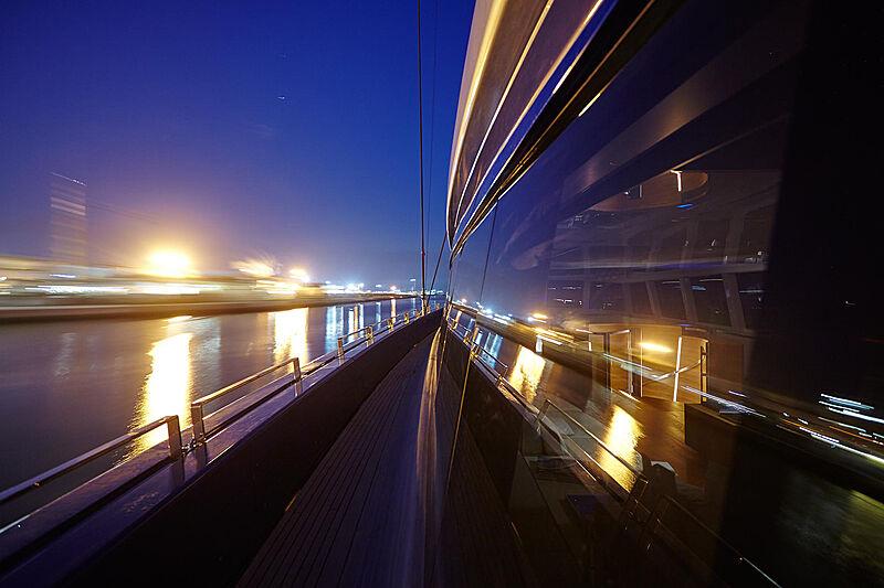 Nativa yacht at night