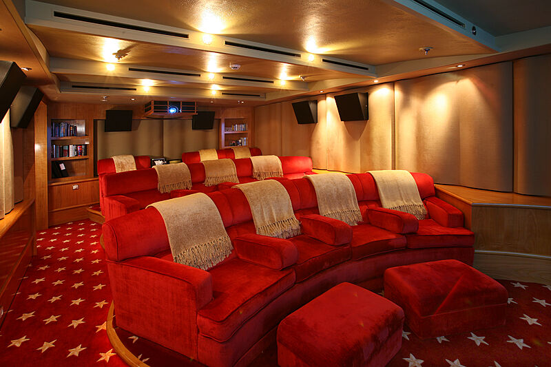 Tatoosh yacht cinema
