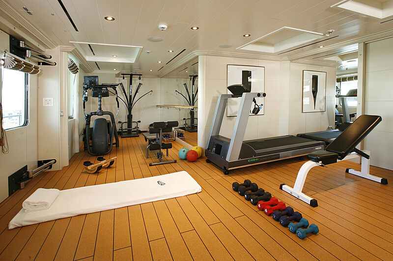 Tatoosh yacht gym