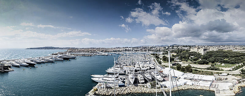 Monaco Marine Antibes shipyard marketing
