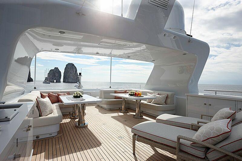 Moon Sand yacht deck