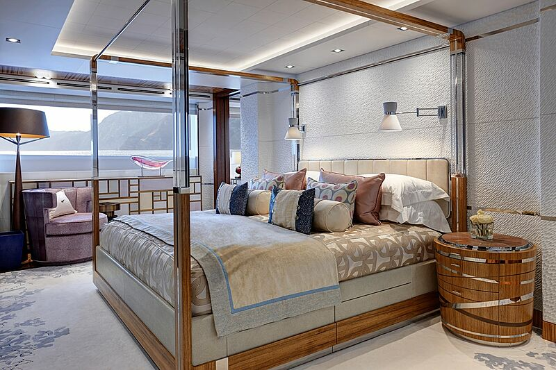 Moon Sand yacht stateroom