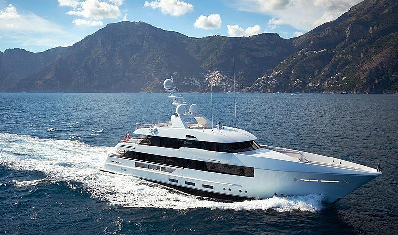Moon Sand yacht cruising