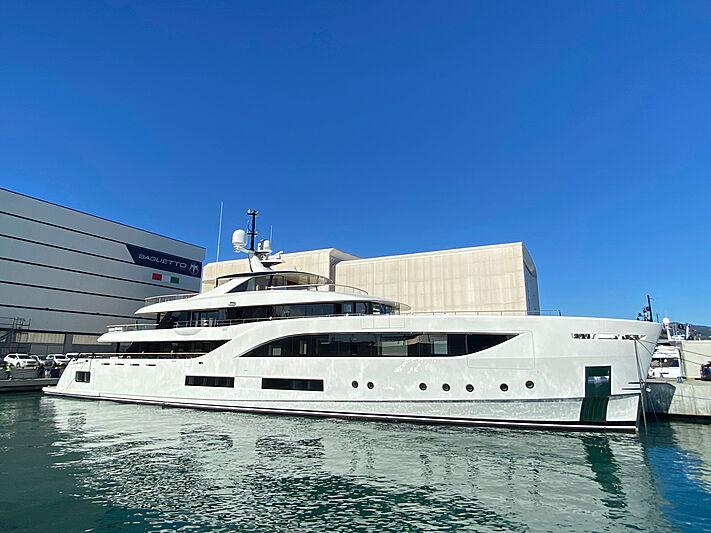 C yacht Baglietto