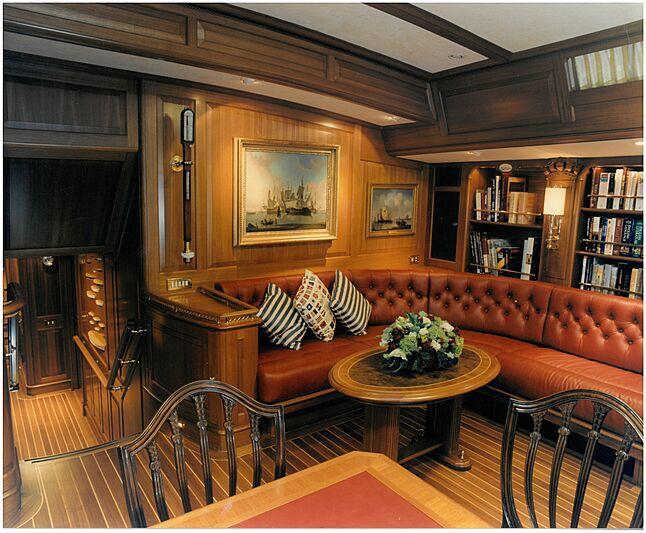 Anakena yacht saloon
