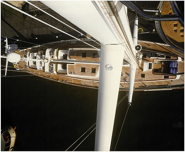 Anakena yacht aerial