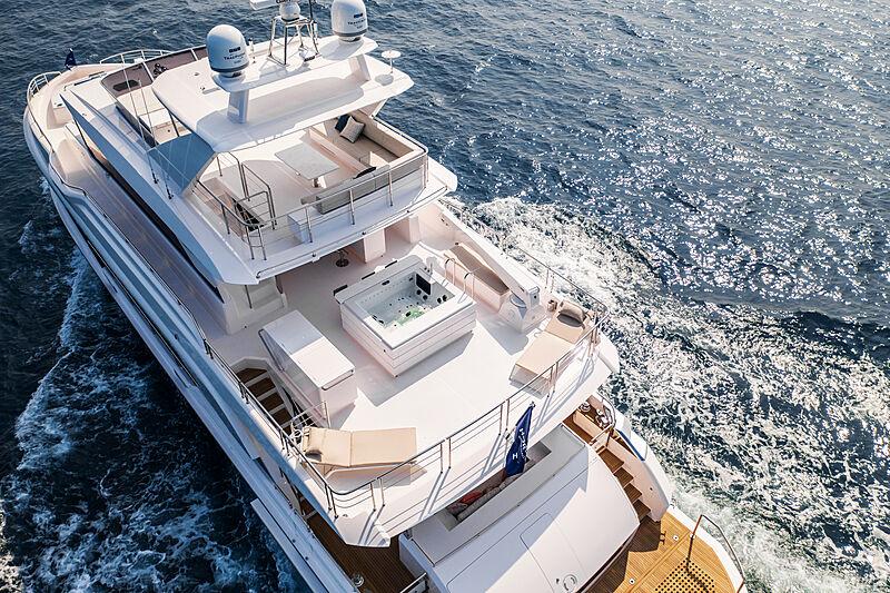 Horizon FD92 Tri Deck/19 yacht exterior