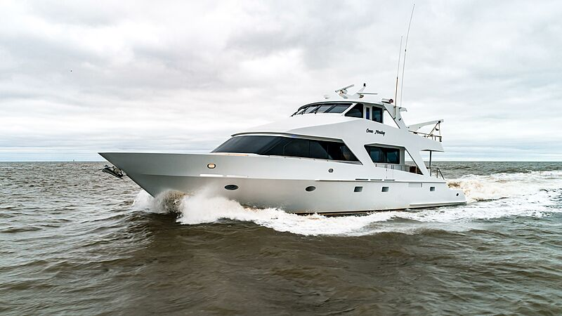COME MONDAY yacht Breaux Bay Craft