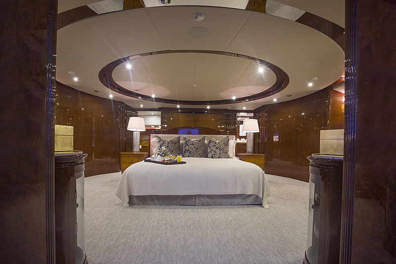 Domani yacht master stateroom
