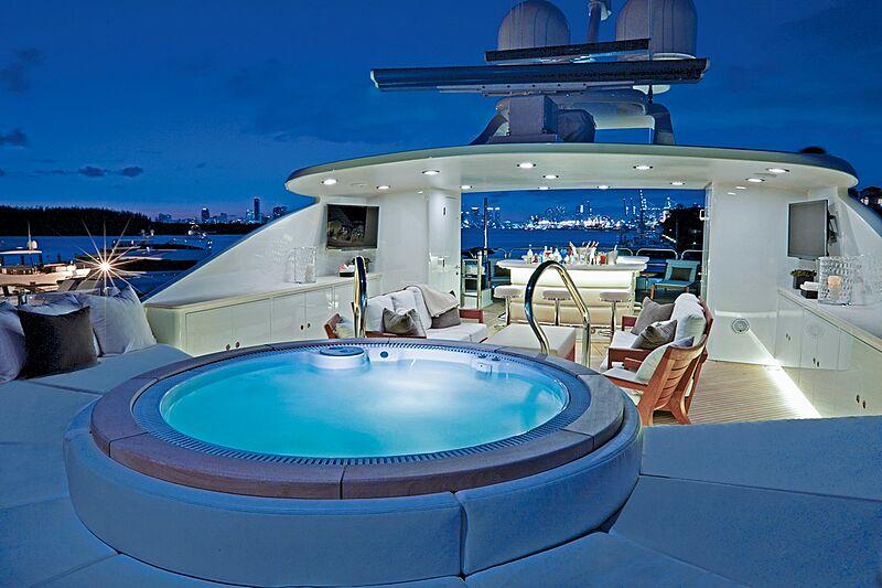 Alessandra yacht sundeck
