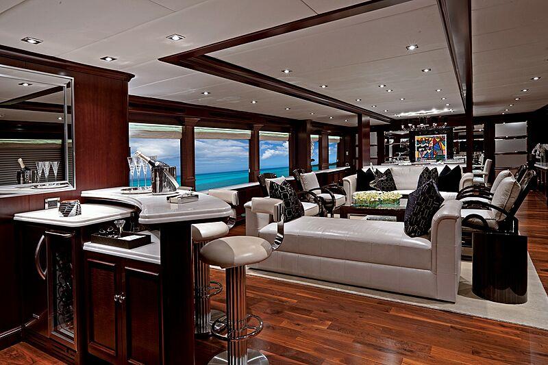 Alessandra yacht saloon