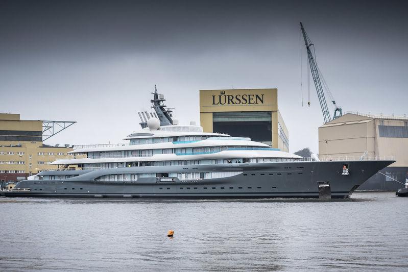 New Lürssen 130m+ Project