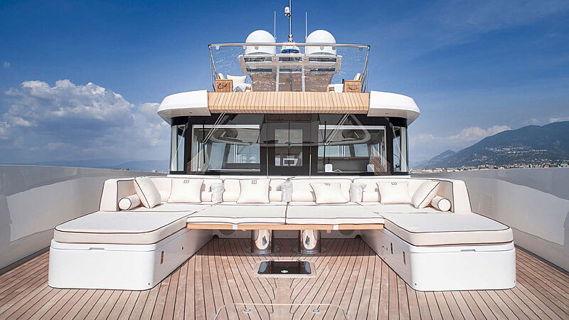 Private GG yacht top deck