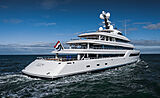 Zen yacht by Feadship sea trials