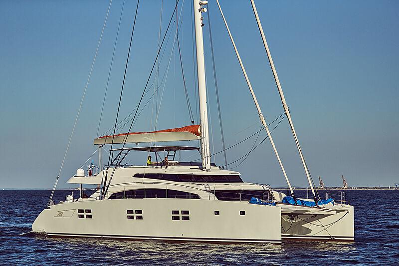 Ruwani yacht cruising